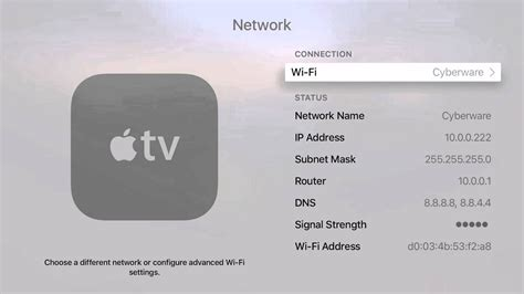 How to Find the MAC Address on Apple TV - YouTube