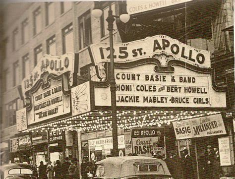 Vintage Apollo Theater not sure of year, guessing 1940-50