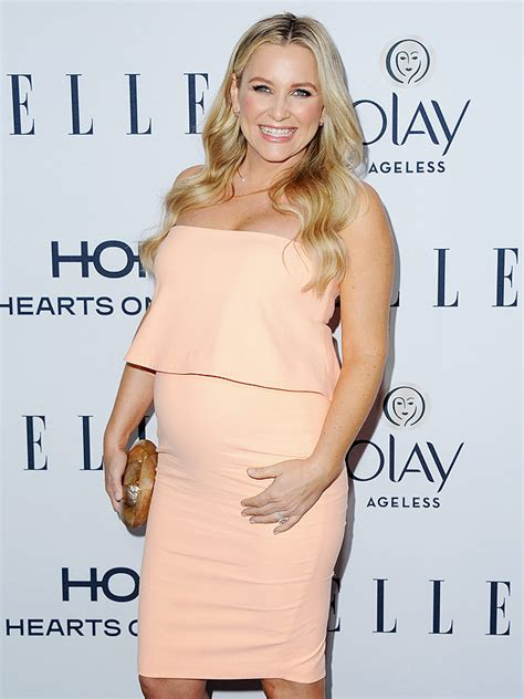 Jessica Capshaw Debuts Baby Bump at ELLE Women in TV Event