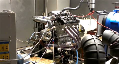 Turbo Hayabusa Engine Hits The Dyno Before Going Into