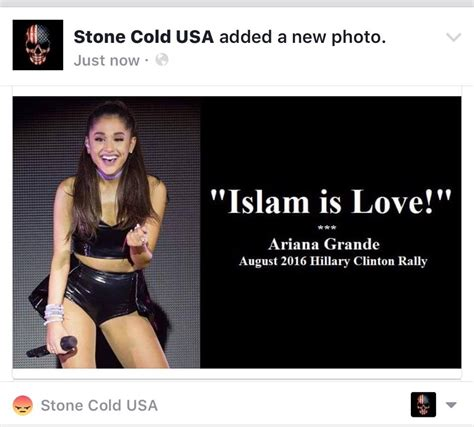 Topic: Ariana Grande is another feminist that loves Islam