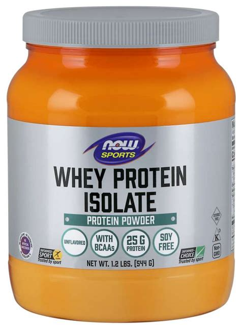 Whey Protein Isolate | Whey Isolate Protein Powder | NOW Foods