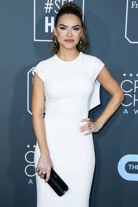 Chrishell Stause Attends the 24th Annual Critics' Choice