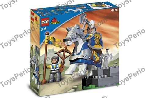 LEGO 4775 Knight and Squire Set Parts Inventory and