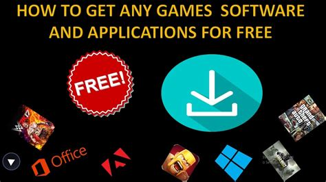 HOW TO GET ANY GAMES SOFTWARE AND APPLICATIONS FOR FREE