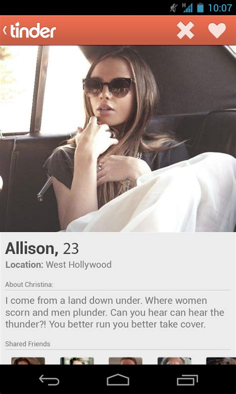 Tinder, the Best Dating App in the Game: NOW ON ANDROID