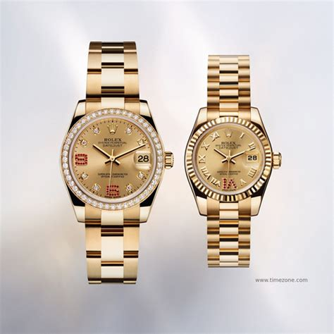 Rolex Oyster Perpetual Datejust Lady 31 and Lady-Datejust