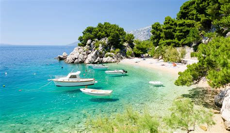 Brela beaches - one of the best ones in the Europe