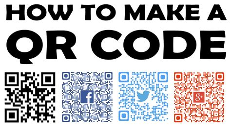 HOW TO CREATE A QR CODE - [ INSTRUCTIONS 101] - YouTube