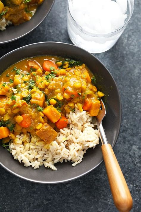 Instant Pot Sweet Potato Curry (vegan) - Fit Foodie Finds