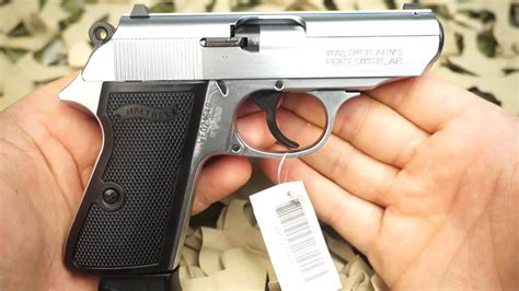 Walther PPK/S 22lr Semi Auto Stainless Steel Pistol Review