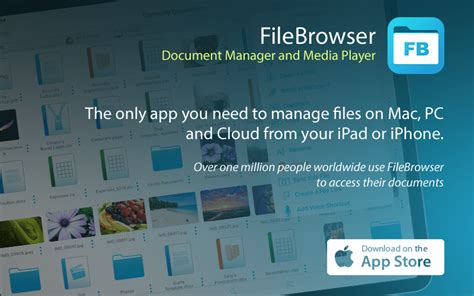 FileBrowser - The best file manager on the App Store
