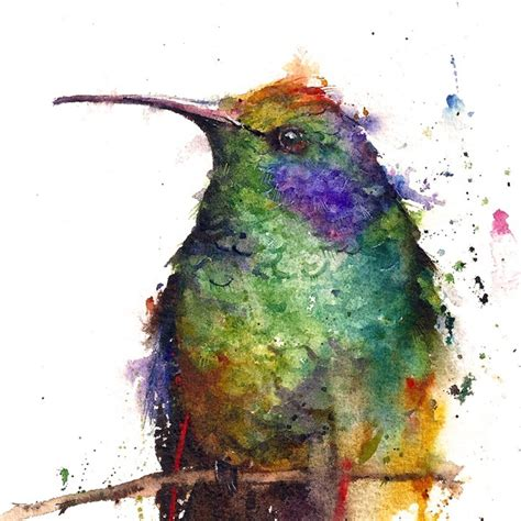 Animal Watercolor Portraits Burst with Color - My Modern Met
