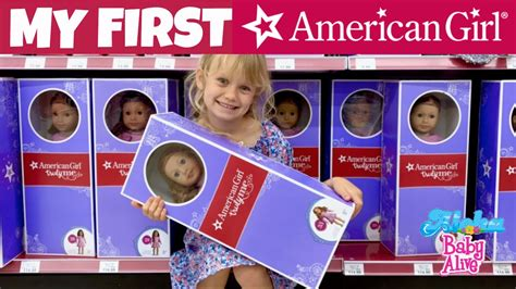 ⭐️American Girl Doll in Toys-R-Us! 💝 Skye's First American