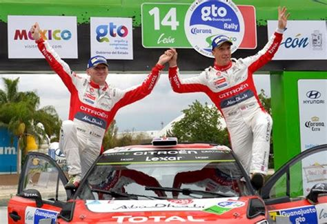 WRC: Meeke wins 2017 Mexico Rally after car park diversion