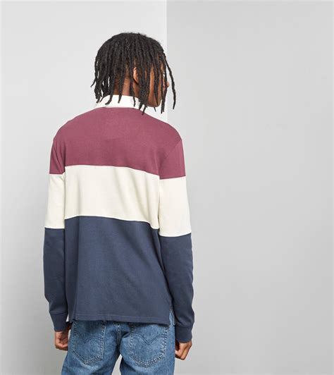 Levi's Cotton Levis Mighty Blocked Rugby Polo Shirt for