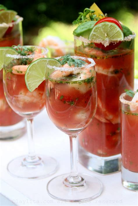 Bloody Maria or Bloody Mary Shrimp Ceviche - Laylita's Recipes