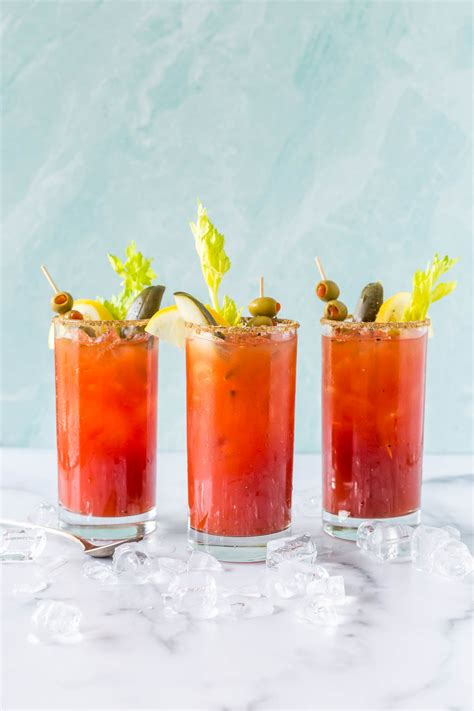 Bloody Caesar Cocktail - A Classic Canadian Drink - Simply