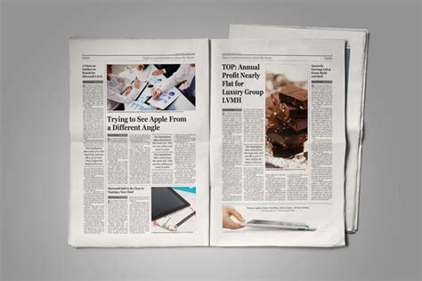Old Style Newspaper Template | StockInDesign
