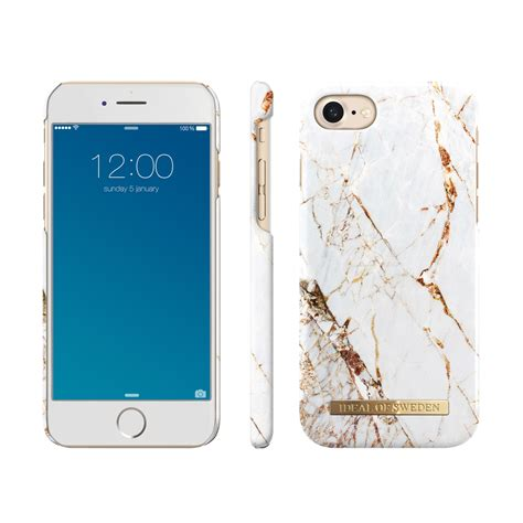 iDeal Of Sweden Fashion Case iPhone 7/8 Carrara Gold Marble