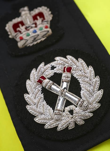 Chief Constable's Insignia   An epaulette of the Chief