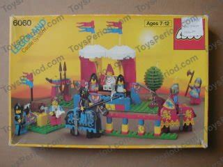 LEGO 6060 Knight's Challenge Set Parts Inventory and